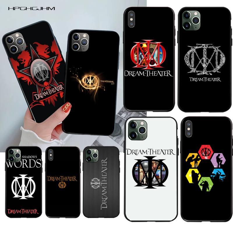 Sonho teatro logotipo telefone caso capa para iphone 11 pro xs max 8 7 6 s plus x 5S se 2020 xr