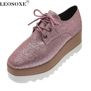 2021 New Arrival Brand Design Wedge Platform Thick Women Shoes Fashion Sequined Cloth High Heel Shoes Woman Wedges Shoes Women