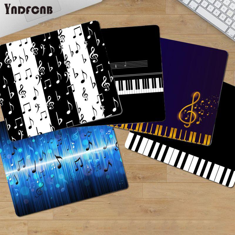 YNDFCNB высококачественные музыкальные заметки, клавиша пианино, индивидуальный Гладкий блокнот для записей, настольные компьютеры, игровой к...