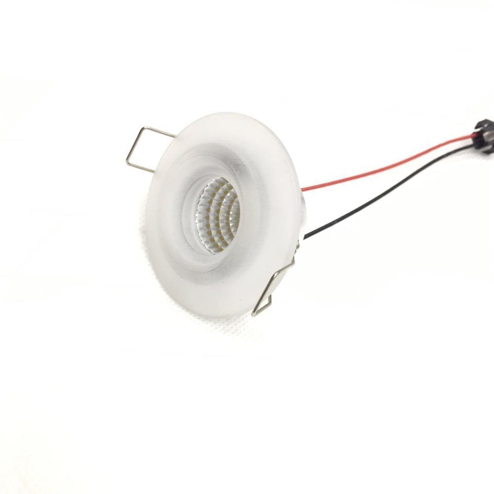 بقعة الأضواء 10 stück 3 واط Led صغير Einbauleuchte الجولة Verstellbarer بقعة Deckenlampe 230 فولت Led-schrankleuchte