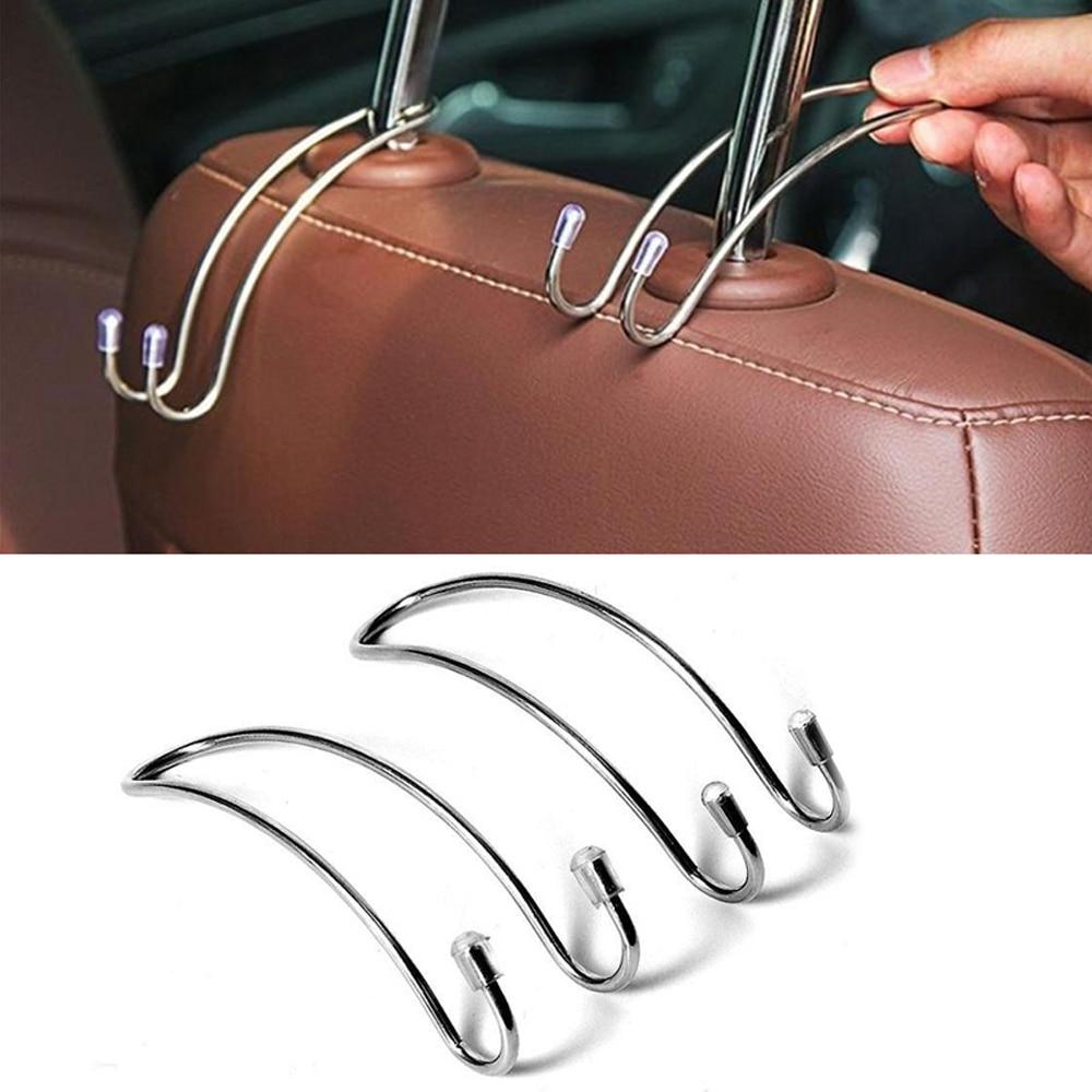 Многофункциональная автомобильная быстрая автоматическая усадочная вешалка на подголовник для сумок, вешалка для хранения пальто, крючок-...