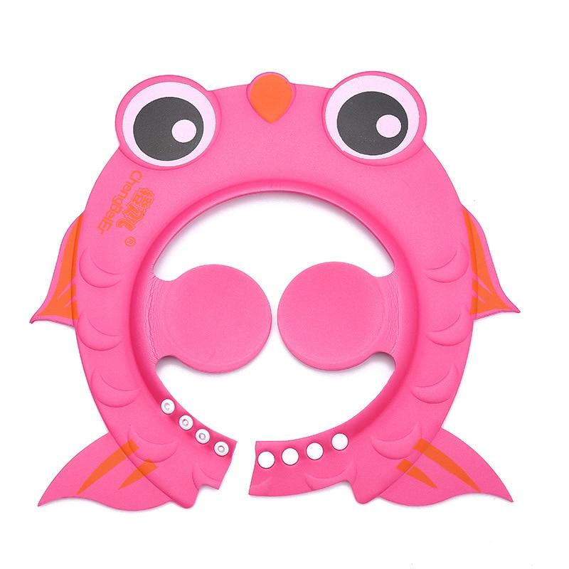 Gorro de ducha de alta calidad para bebés, ajustable, para niños de 0 a 10 años, protección de orejas, impermeable, envío gratis