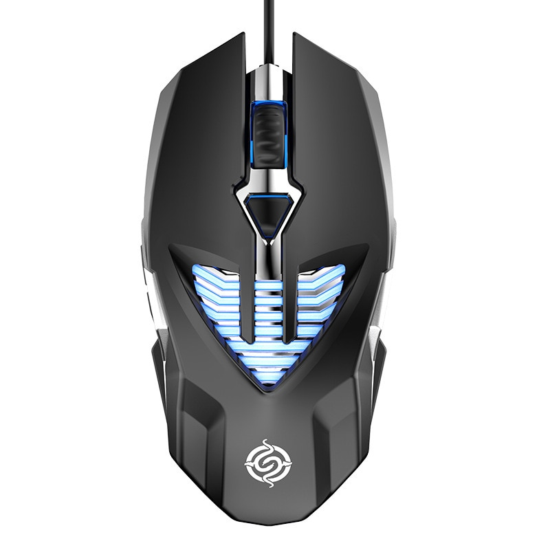 Professional Competitive Game Mouse 6d Electroplating Metal Water-Cooled Light Effect Macro Programming USB Wired Mouse enlarge