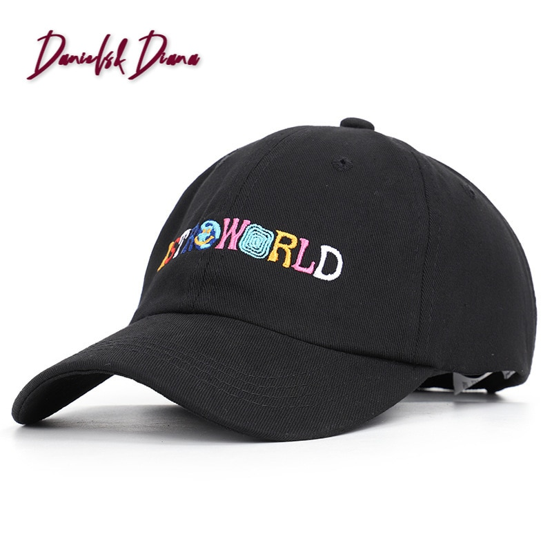New Arrival Cotton Unisex  2020 Speed Sell Hot Style Letters Astroworld Baseball Cap Sun Hat, Leisure Hat For And