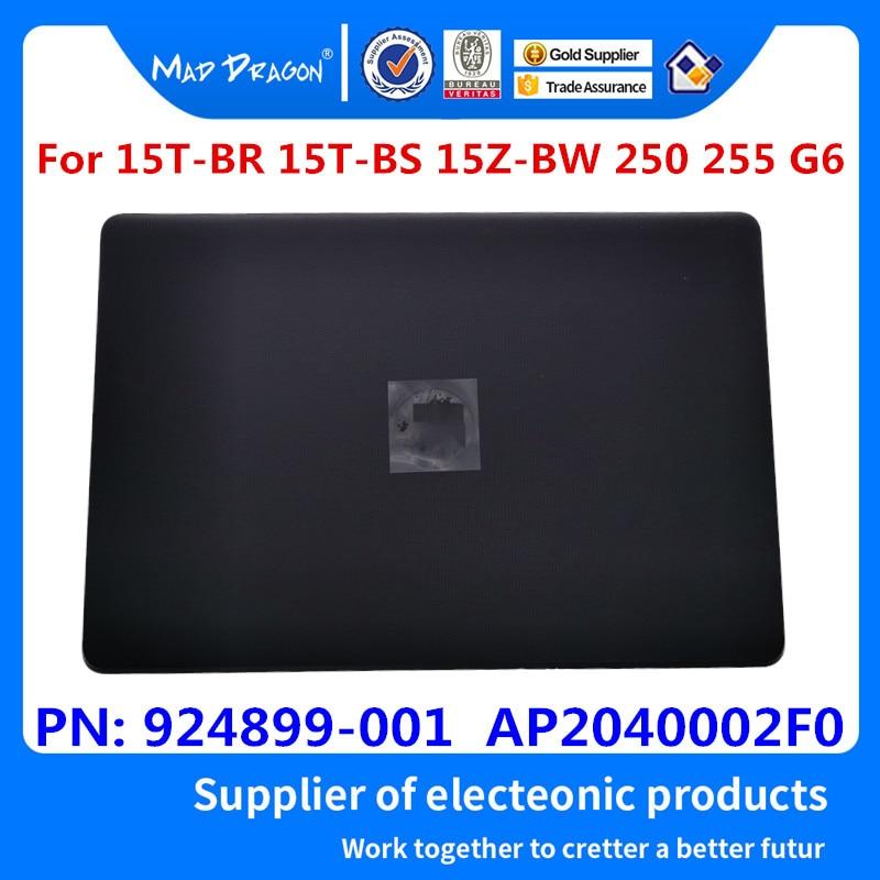 Original Nuevo LCD contraportada para HP 15-BS015DX 15-BS 15T-BR 15Q-BU 15T-BS 15-BW 250 G6 255 G6 TPN-C129 TPN-C130 924899-001 negro