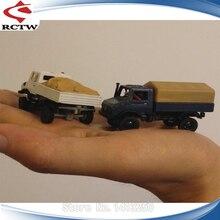 Das87 DS87E06 4WD Unimog Truck Plastic Chassis DIY Kit