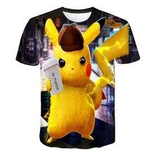 4 to 14 years kids t shirt Super Smash / Pokemon / Pikachu 3d printed t-shirt boys girls cartoon t shirts top children clothes