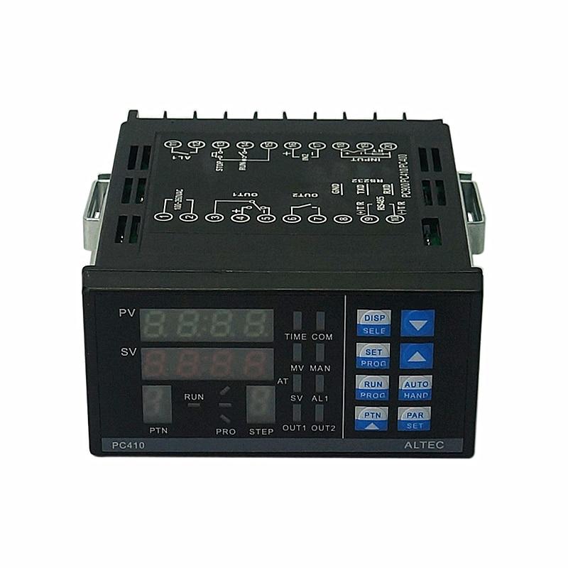 ALTEC PC410 Panel Controlador digital de temperatura RS232 con módulo de comunicación...