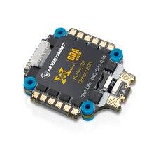 Nuevo HobbyWing XRotor Micro 60A 4in1 5V BEC salida 3-6S Lipo BLHeli-32 dfusil 1200 integrada 3-6S ESC para bricolage de Multicopter