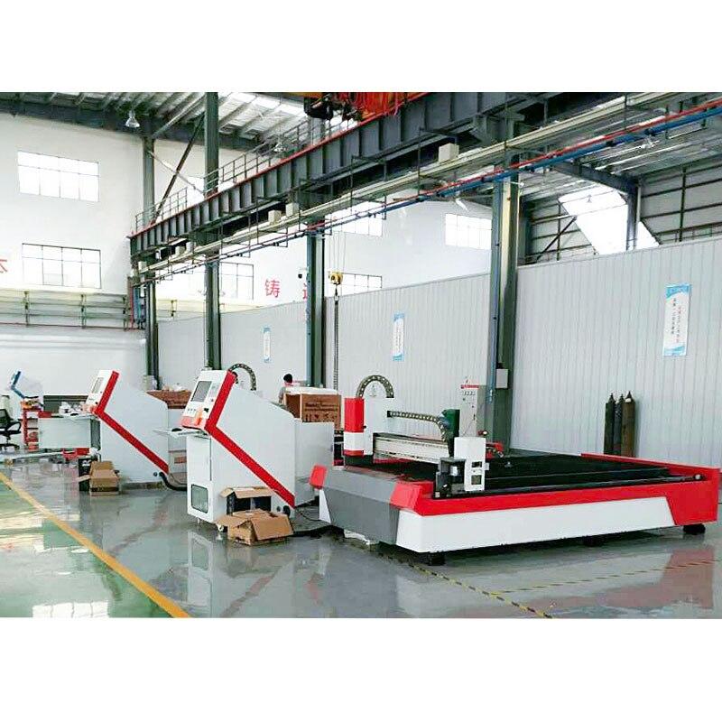 Láser CNC fabricación 500W 1000W 2000W Metal máquina cortadora láser de fibra