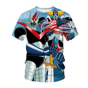 021 Anime T-shirt Men Girls 3D T-shirt Hip Hop Anime A Warrior Sweatshirt T-shirt Top