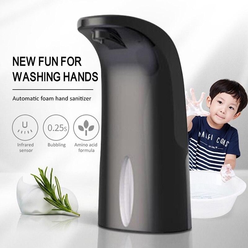 الذكية التعريفي التلقائي رغوة غسل الهاتف المحمول USB الأطفال الطفل الحائط موزع الصابون
