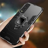 shockproof armor case for vivo x50 x27 pro x9 x20 plus ring stand bumper phone back cover for vivo x23 x21i x21 ud coque funda
