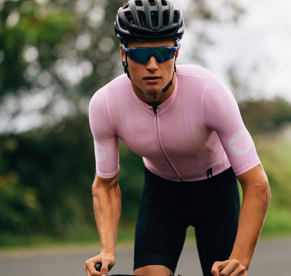2019 black sheep barmy exército ciclismo jérsei kits manga curta roupas de bicicleta dos homens verão mtb bicicleta respirável conjunto