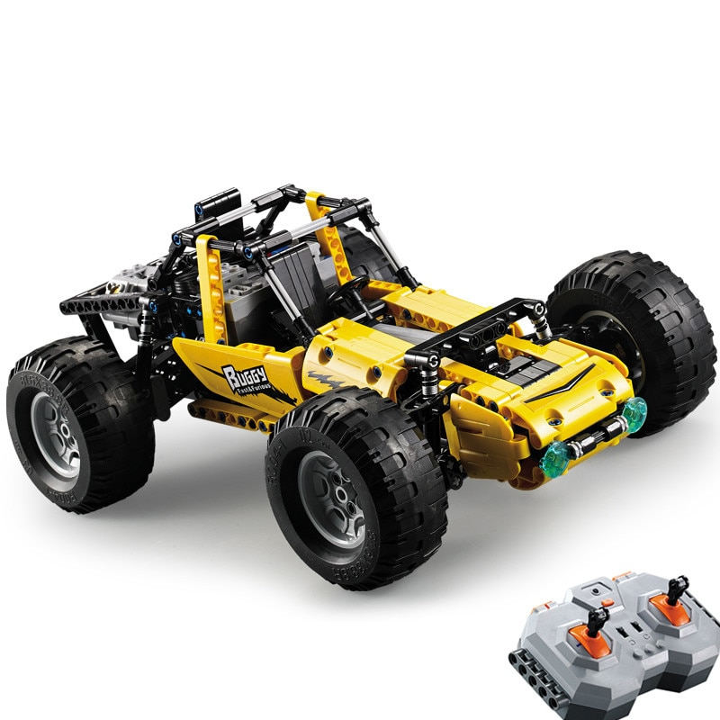 2.4Ghz Technic RC All Terrain Off-Road Climbing Trucks Car Lepin Off-Road Racing Building Blocks Bricks Toys Christmas Gifts