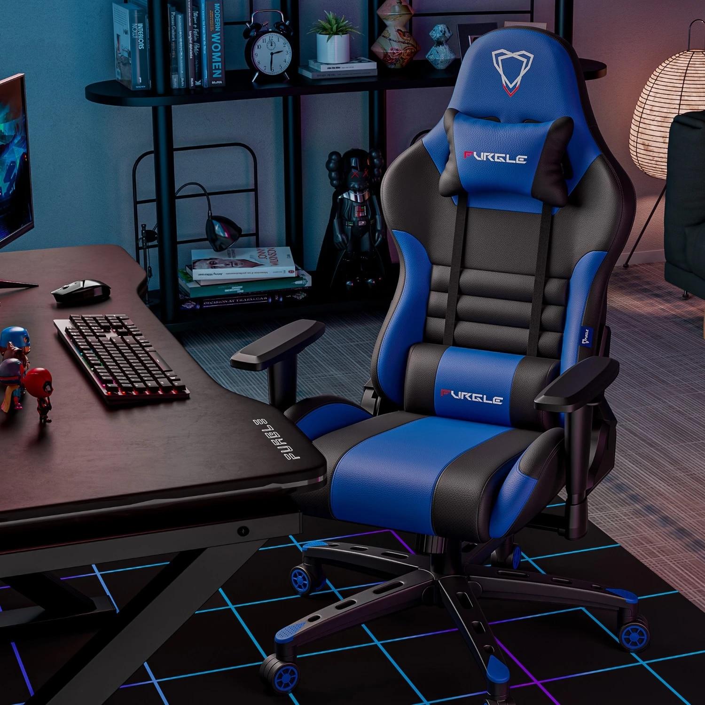 Фото - Игровой стул серии Furgle, компьютерное кресло, кожаное кресло начальника Wcg, игровое кресло, офисное кресло, Гоночное кресло кресло