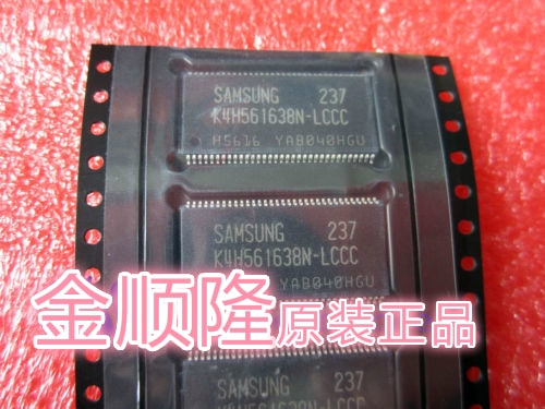 5 peças K4H561638N-LCCC 128mb ddr sdram