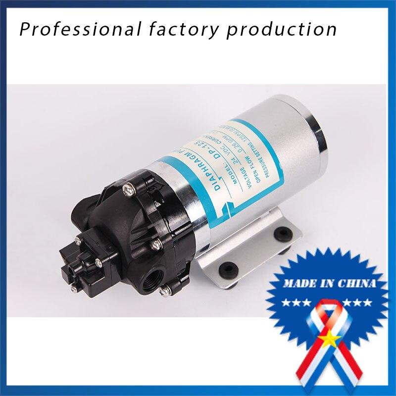 DP-125 DC الطاقة الكهربائية الصغيرة 24 فولت المياه مضخة للصناعات الكيماوية