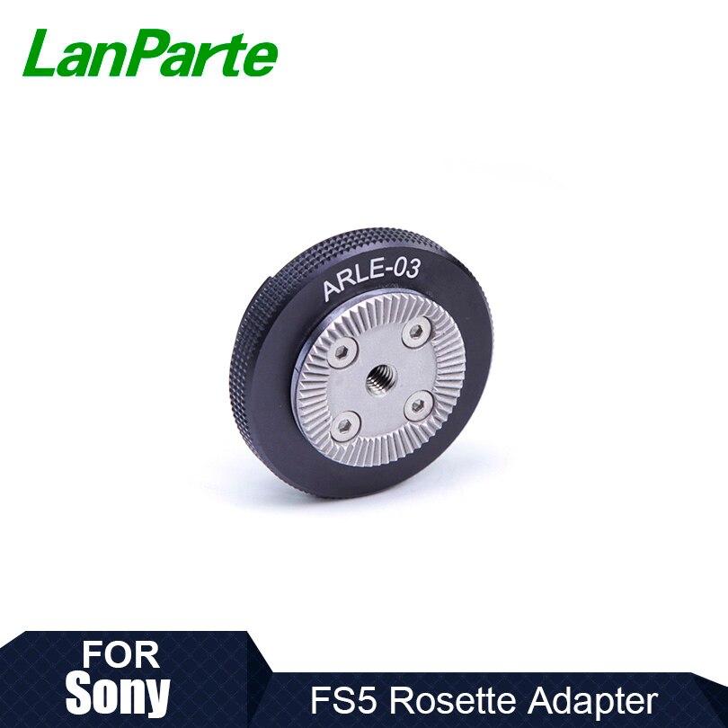 LanParte-Adaptador de empuñadura para cámara Sony FS5, montaje de Bayoneta Original
