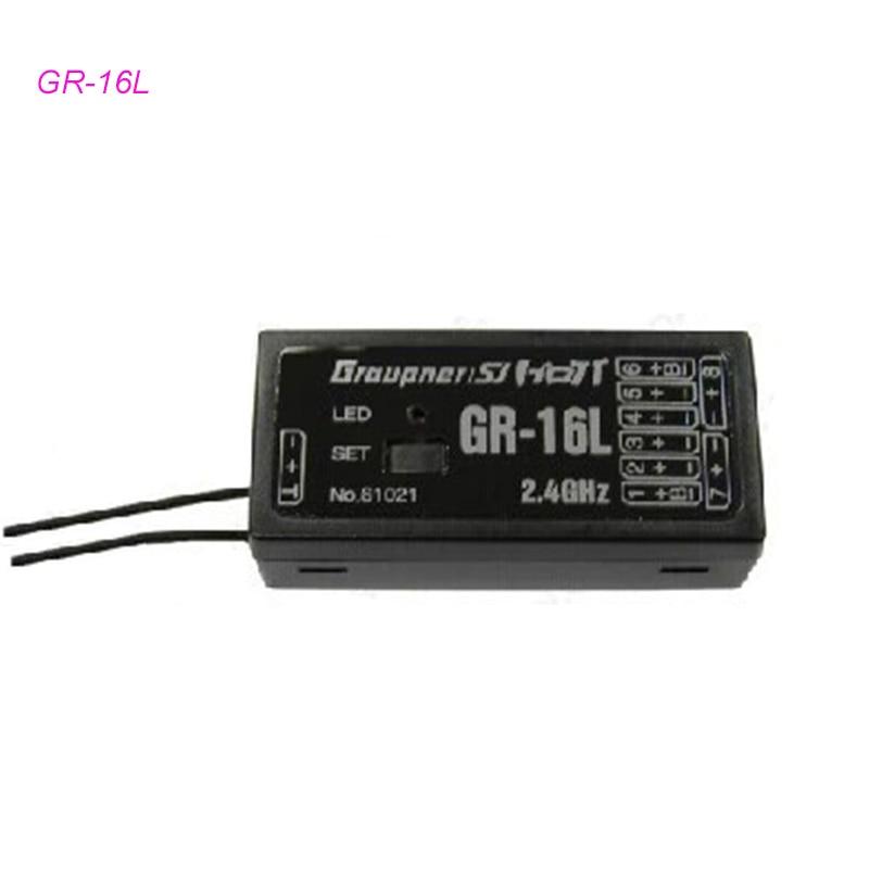 Graupner GR-16L 8-канальный 2,4 ГГц приемник hott 2,4 ГГц Радиоуправляемый приемник для передатчика RC Multirotor