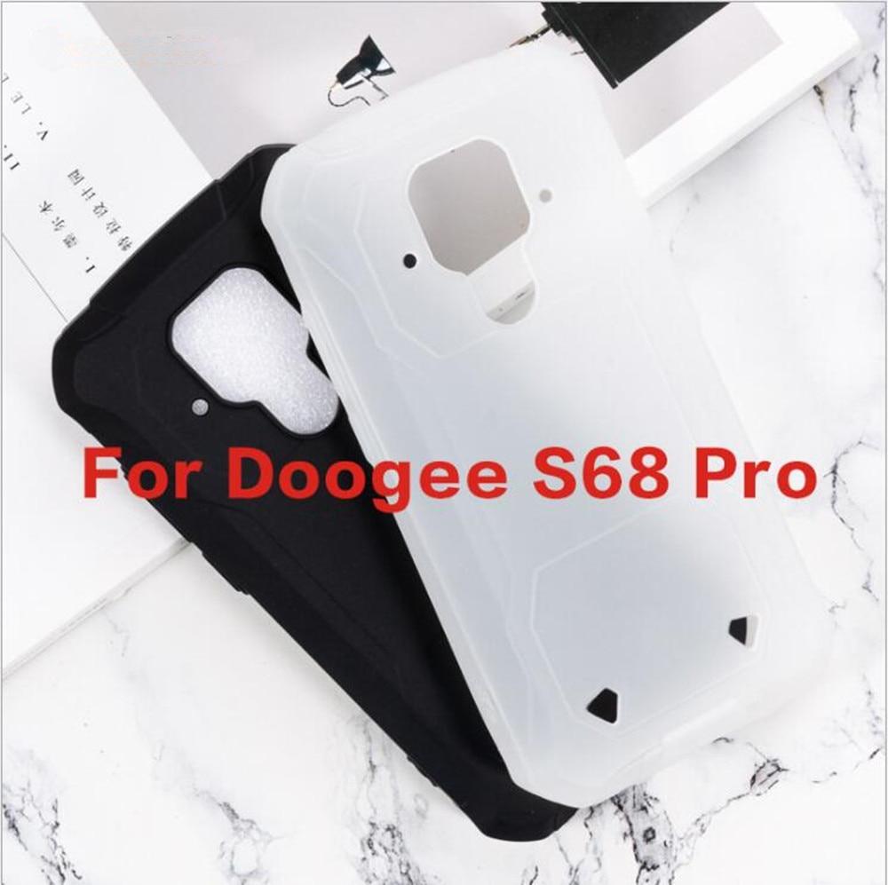Funda doogee-s68 Pro, funda de TPU blanda antigolpes para doogee-s68 Pro, funda protectora de silicona antideslizante, Capa trasera