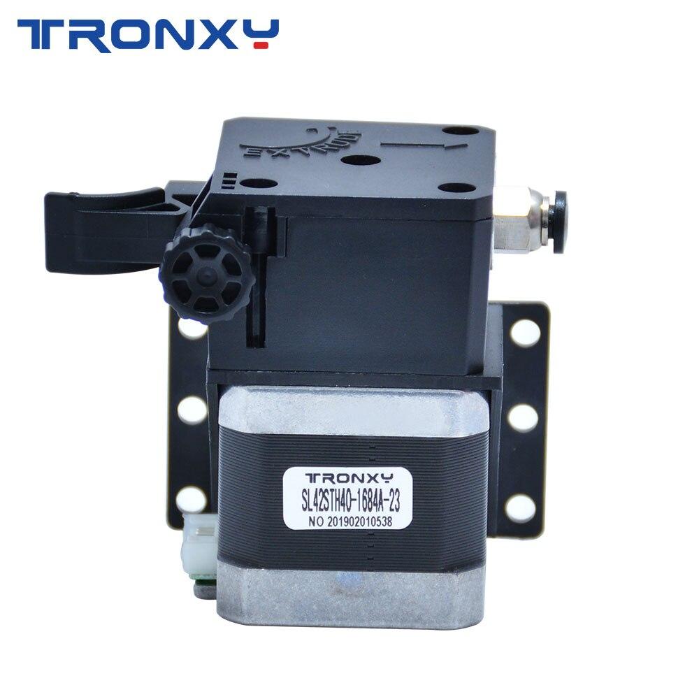 Tronxy ثلاثية الأبعاد أجزاء الطابعة تيتان الطارد مع كابل المحرك ل MK8 eثلاثية الأبعاد V6 هوتند J-رئيس بودن تصاعد قوس 1.75 مللي متر خيوط
