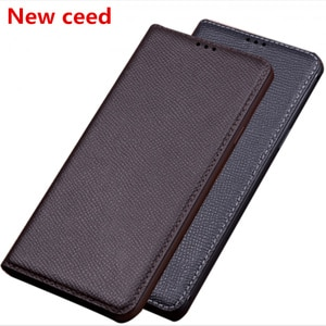 Natural genuine leather magnetic holder phone bag for Samsung Galaxy Xcover 4S/Galaxy Xcover 4/Galaxy Xcover 5 phone cover case