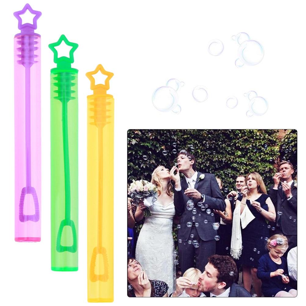 Botella De jabón De burbujas DIY, decoración Para fiesta De cumpleaños, boda,...