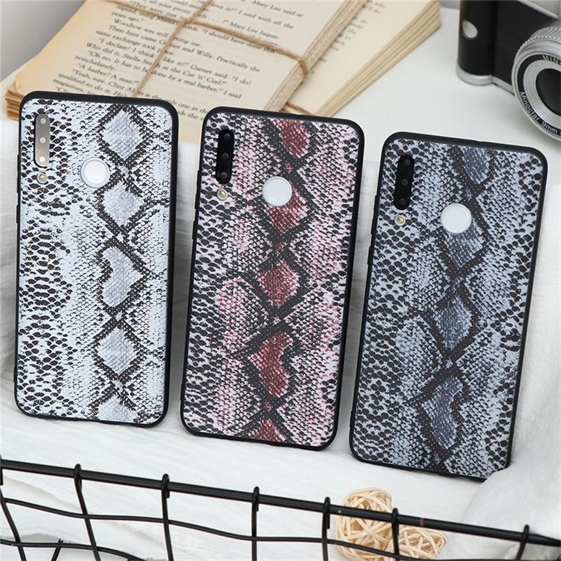 3D relieve textura de cocodrilo suave piel de serpiente Fundas para Huawei P9 P10 P30 P20 Lite 2019 Mate 30 20 10 Lite Pro P funda inteligente