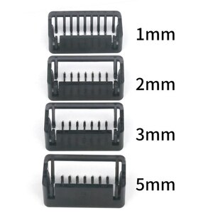Hot Professional Limit Comb Cutting Guide Combs Set Fits for  Oneblade Small T Knife Hair Clipper Styling Tools