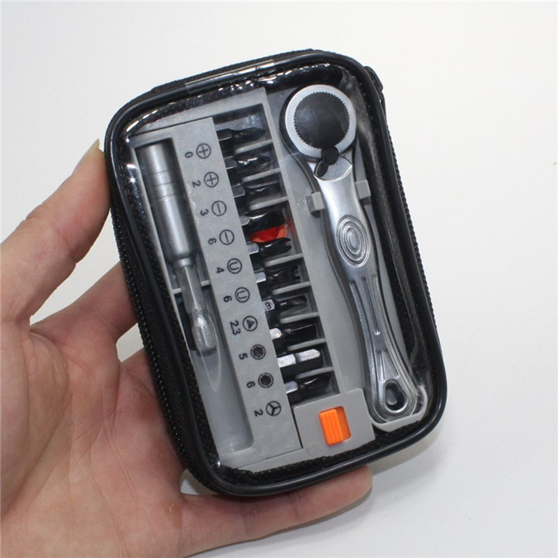 12Pcs Portable Screwdriver Ratchet Wrench Can Rotate Clockwise And Counterclockwise Industrial Maintenance Tools