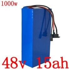 48V batterie 48V 10ah 13ah 15ah batterie de vélo électrique 48V 15AH batterie au Lithium pour 48V 500W 750W 1000W ebike moteur