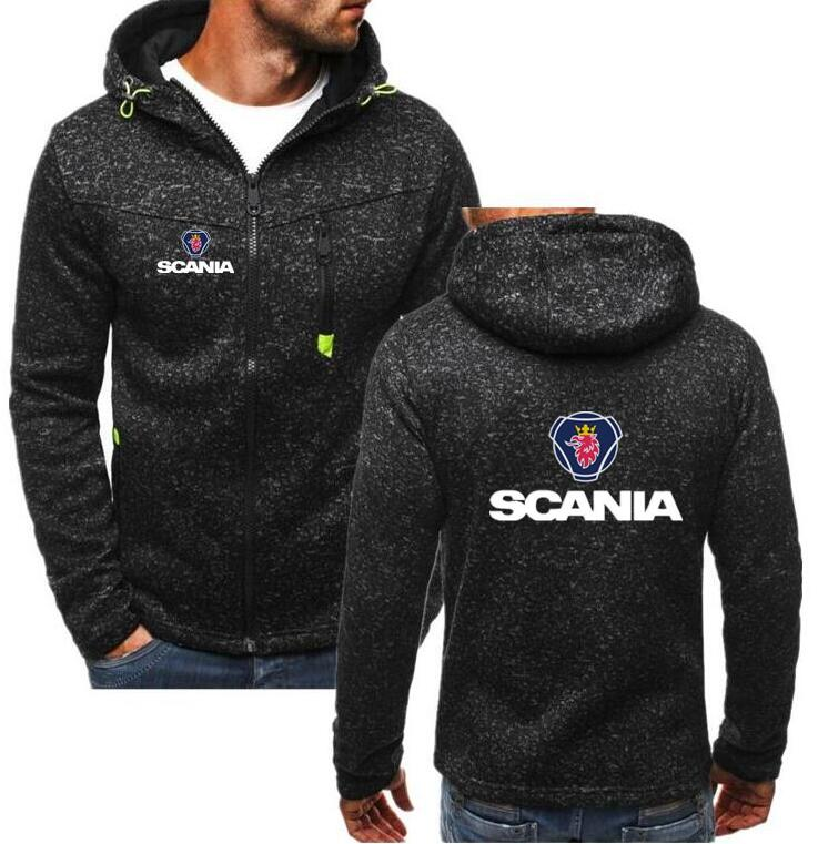 2019 Men's Autumn and winter motocross hoodies Printed for Saab SCANIA riding sweatshirt motocycle c