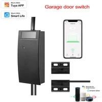 Home Smart WIFI Garage Door Switch Controller Tuya Voice Remote APP Remote Control Compatible With Alexa Google Home Smart Home