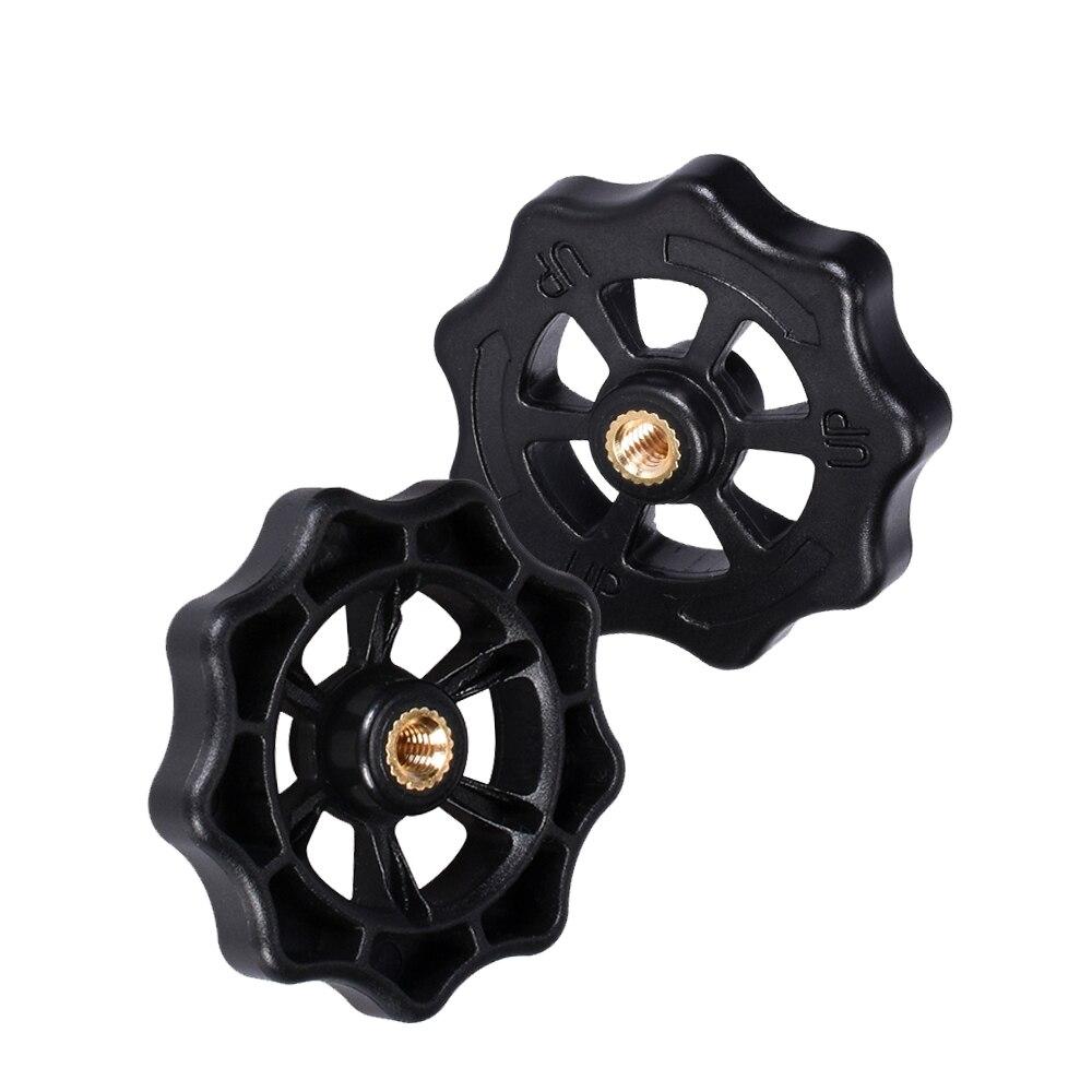 Ajuste nivelación tuerca Manual de nivelación automática DIY actualización 3D piezas de la impresora mano grande giro nueces para CR10 extrusora