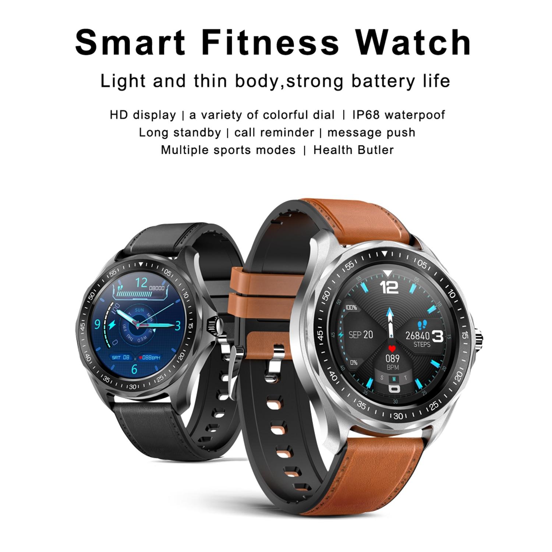 SENBONO S09 Plus ساعة ذكية BT5.0 IP68 مقاوم للماء ضغط الدم/معدل ضربات القلب/النوم رصد الموقت إخطار تذكير Smartwatch