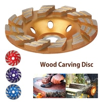 Алмазный шлифовальный диск, диск для резьбы по дереву, шлифовка в форме чаши стаканов, бетона, гранита, камня, керамики, режущий диск, электро...