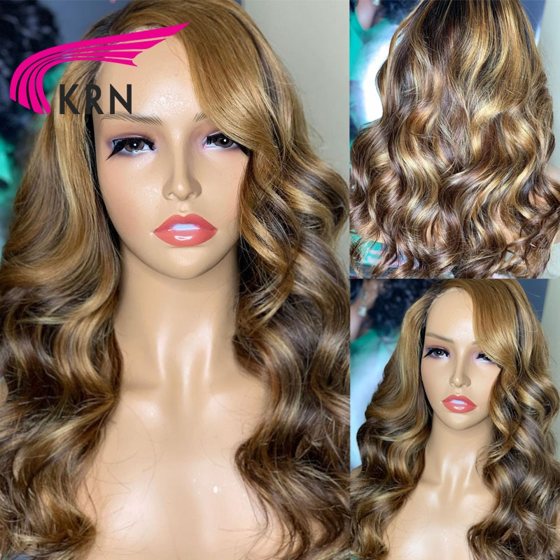 Lace Front Human Hair Wigs 180% Brazilian Body Wave Lace Frontal Wig For Human Women Wigs With Baby Hair Brazilian Remy