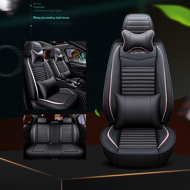 Cubiertas de asiento de coche para bmw e39 f10 e60 f30 e46...