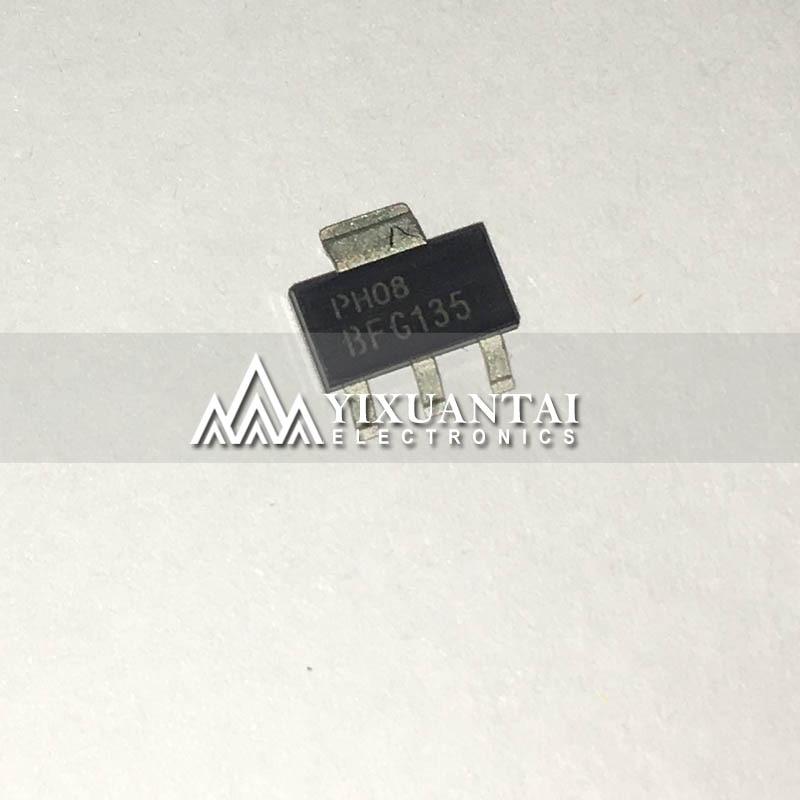 10 unids/lote 100% original BCX52 E6327 BFG135A E6327 BFG135 BDP31 BDP32 SOT223