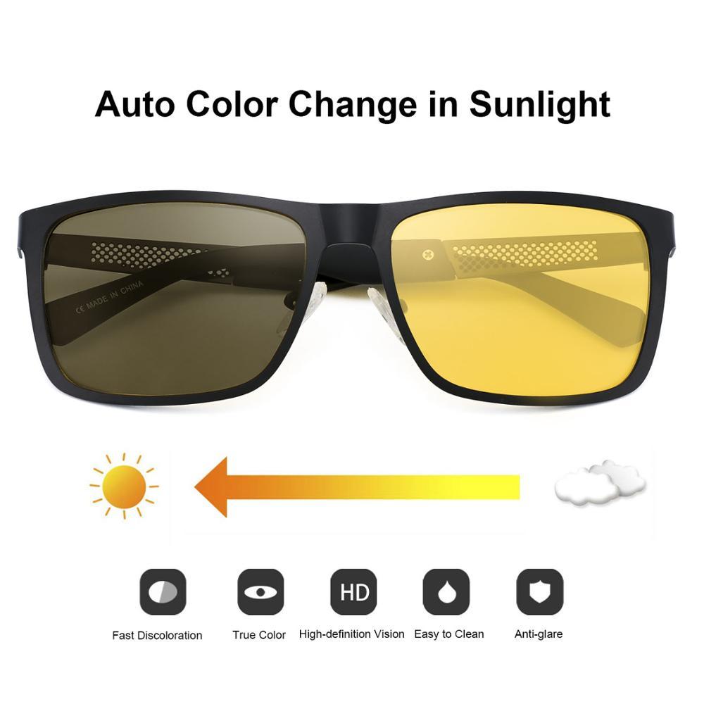 FENCHI gafas de sol polarizadas para hombre gafas de sol para hombre lunette soleil homme