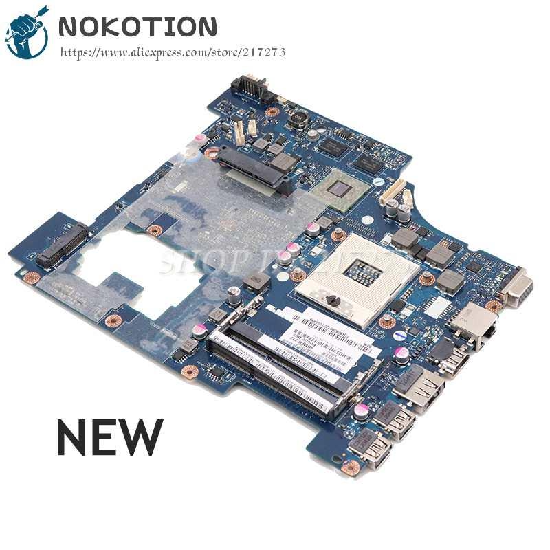 NOKOTION PIWG2 LA-6753P REV1.0 اللوحة الرئيسية لينوفو G570 اللوحة الأم للجهاز المحمول HM65 DDR3 HD 6630M سلسلة الرسومات