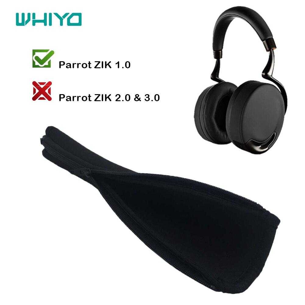 Whiyo 1 قطعة من العالمي استبدال الوفير ل الببغاء ZIK 1.0 سماعات عقال غطاء أكواب كم قطع الأذن وسادة
