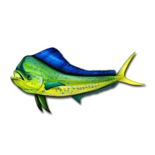 13cm X 6cm Creative Coryphaena Hippurus Car Sticker Accessories Car Styling Cover Scratches Waterpro