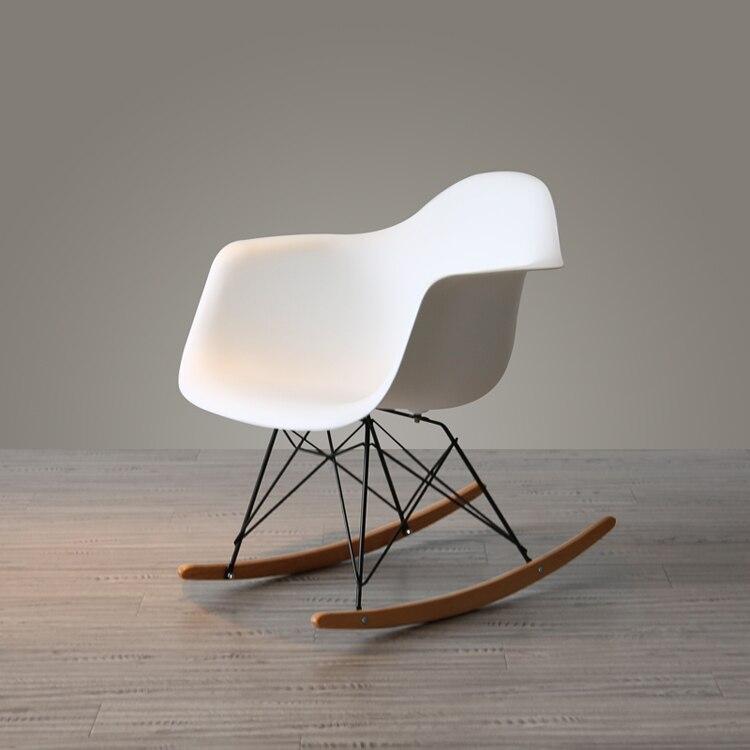 Dormitorio, ocio, balcón, Adulto, sillón mecedora individual reclinable para adulto, silla de ocio perezosa, silla de Casa Nórdica Yaoyao