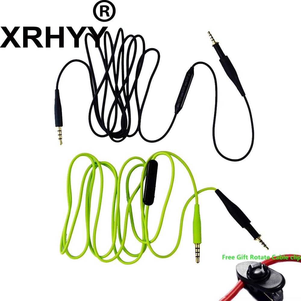 XRHYY сменный кабель аудиошнур с микрофоном Регулятор громкости для AKG K430 K450 K451 K452 Q460 K480 JBL J55 a J55i J88 a наушники