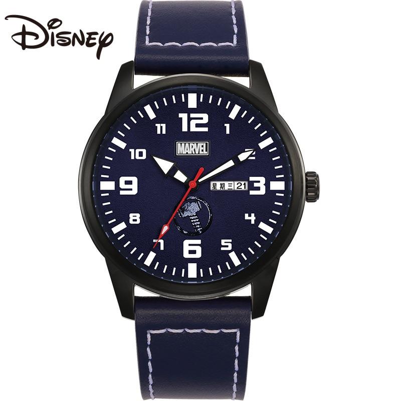 Disney Watch Men's Quartz 2021 New Belt Casual Calendar Week Luminous Personality Student Waterproof Reloj De Mujer