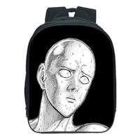 one punch man backpacks anime cartoon saitama 3d print cosplay school student bookbag boys girls knapsack