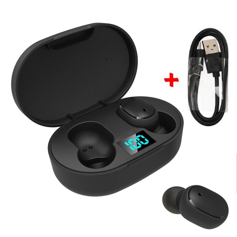 TWS беспроводные Bluetooth наушники 5,0 спортивные гарнитуры наушники с шумоподавлением с микрофоном для iPhone Huawei Samsung Xiaomi Redmi