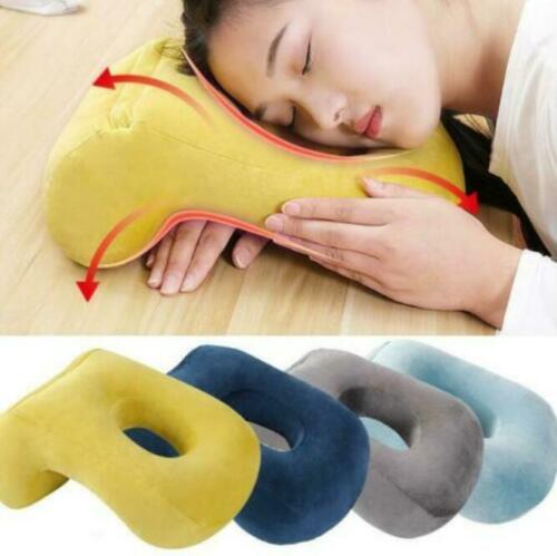 وسادة نوم مخملية مجوفة ، وسادة رأس ، دعم للرقبة ، مكتب ، مسند للقيلولة